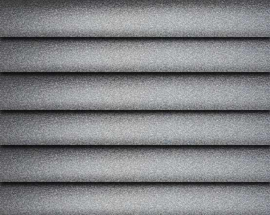 Graphite Sparkle Dark Grey Venetian Blinds With A Silver